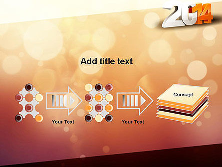 2014 PowerPoint Template Slide 9