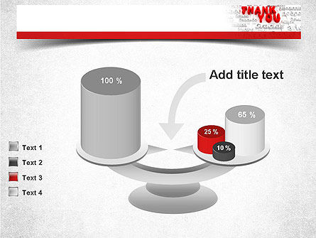 Thank You in Different Languages PowerPoint Template Slide 10