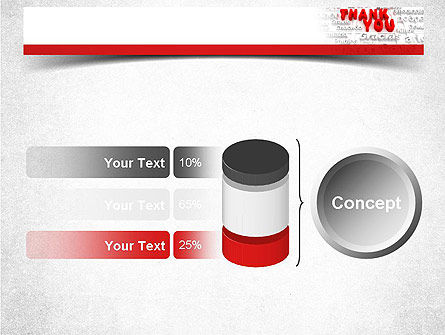 Thank You in Different Languages PowerPoint Template Slide 11