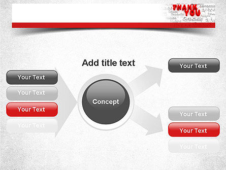 Thank You in Different Languages PowerPoint Template Slide 14
