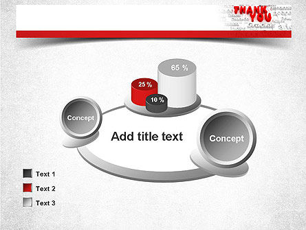 Thank You in Different Languages PowerPoint Template Slide 16