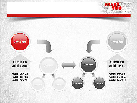 Thank You in Different Languages PowerPoint Template Slide 19