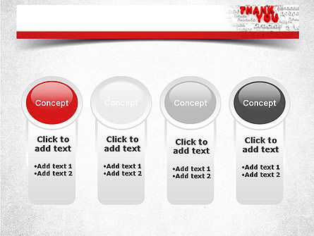 Thank You in Different Languages PowerPoint Template Slide 5
