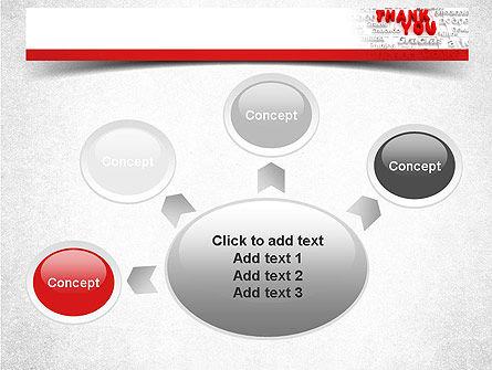 Thank You in Different Languages PowerPoint Template Slide 7