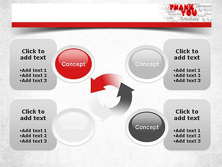 Thank You in Different Languages PowerPoint Template Slide 9