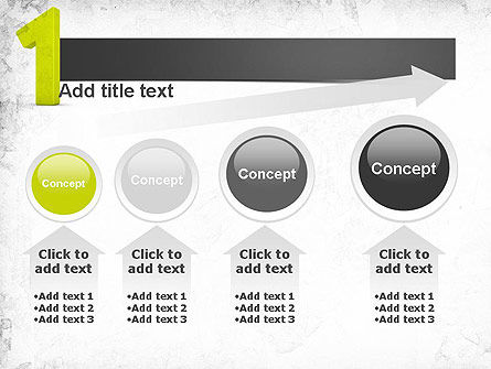 Number One Green PowerPoint Template Slide 13