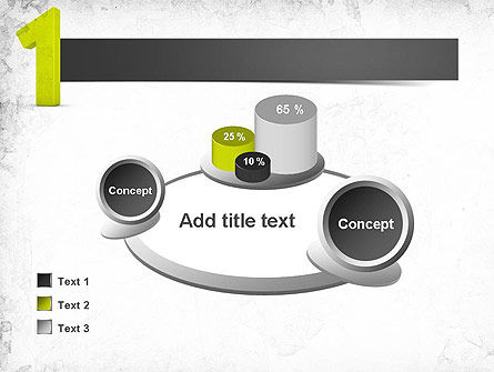 Number One Green PowerPoint Template Slide 16