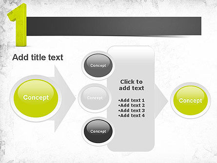 Number One Green PowerPoint Template Slide 17