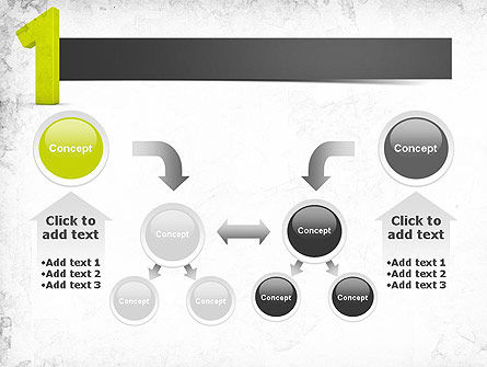Number One Green PowerPoint Template Slide 19