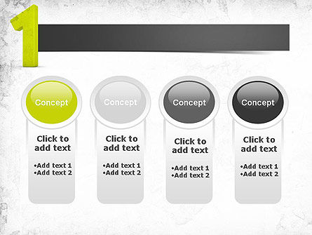 Number One Green PowerPoint Template Slide 5