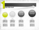 Number One Green PowerPoint Template#13