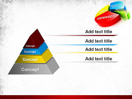 Price Composition Pie Chart PowerPoint Template Slide 12