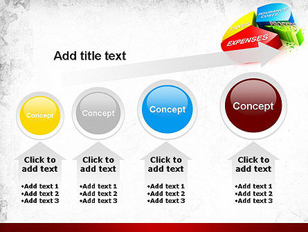 Price Composition Pie Chart PowerPoint Template Slide 13