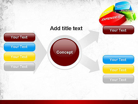 Price Composition Pie Chart PowerPoint Template Slide 14