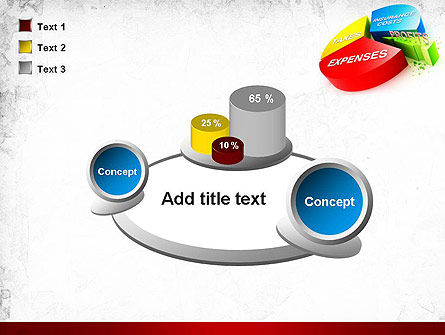 Price Composition Pie Chart PowerPoint Template Slide 16