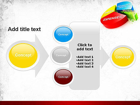 Price Composition Pie Chart PowerPoint Template Slide 17