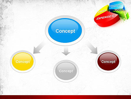 Price Composition Pie Chart PowerPoint Template Slide 4