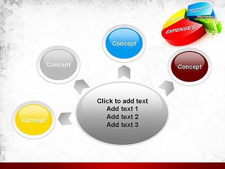 Price Composition Pie Chart PowerPoint Template Slide 7