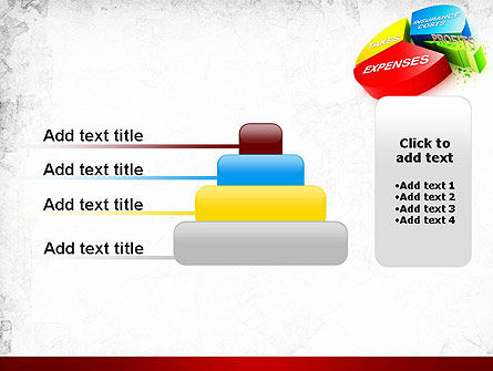 Price Composition Pie Chart PowerPoint Template Slide 8
