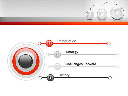 Grow Strategy Concept PowerPoint Template, Slide 3, 11507, Consulting — PoweredTemplate.com