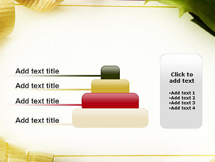 Beautiful Greeting Card PowerPoint template Slide 8