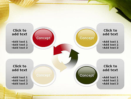 Beautiful Greeting Card PowerPoint template Slide 9