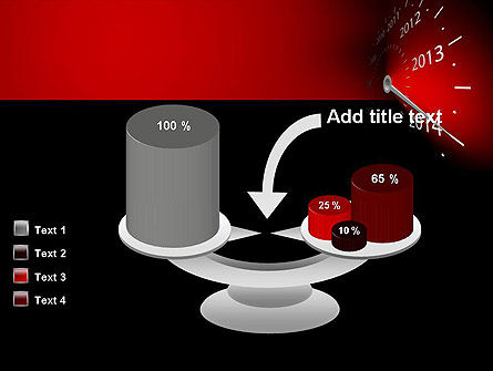 2014 Year Speedometer PowerPoint Template Slide 10