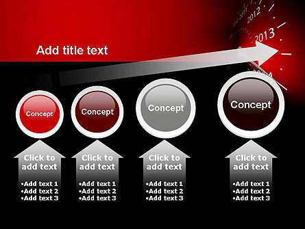 2014 Year Speedometer PowerPoint Template Slide 13