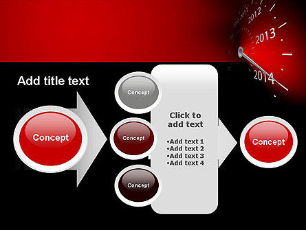 2014 Year Speedometer PowerPoint Template Slide 17