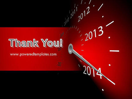 2014 Year Speedometer PowerPoint Template Slide 20