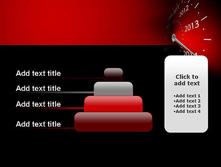 2014 Year Speedometer PowerPoint Template Slide 8