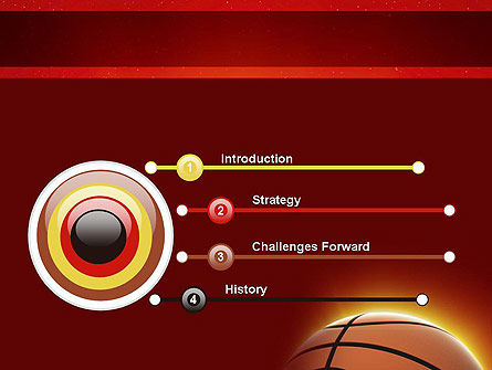 Basketball Planet PowerPoint Template, Slide 3, 11510, Sports — PoweredTemplate.com