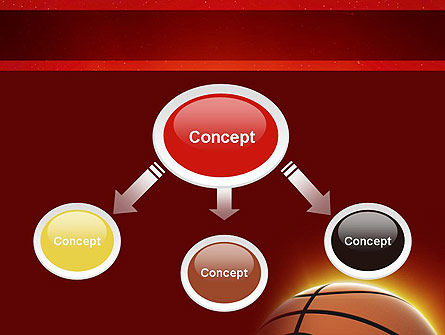 Basketball Planet PowerPoint Template, Slide 4, 11510, Sports — PoweredTemplate.com
