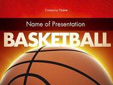 Sports: バスケットボールの惑星 - PowerPointテンプレート #11510