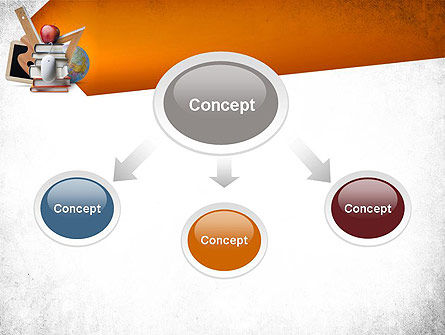 School Curriculum PowerPoint Template Slide 4
