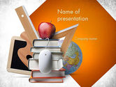 Education & Training: School Curriculum PowerPoint Template #11511
