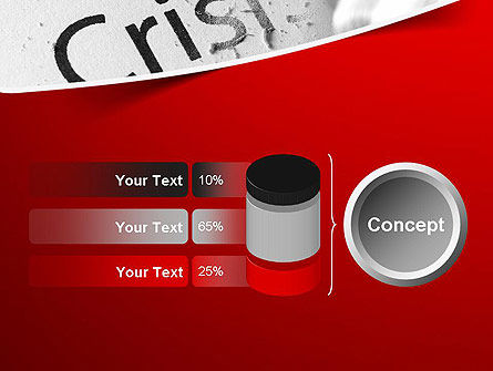 Erasing Crisis PowerPoint Template Slide 11