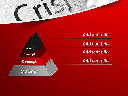 Erasing Crisis PowerPoint Template Slide 12