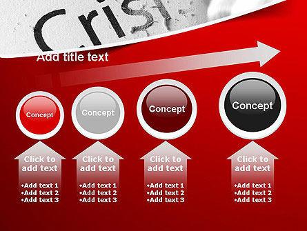 Erasing Crisis PowerPoint Template Slide 13
