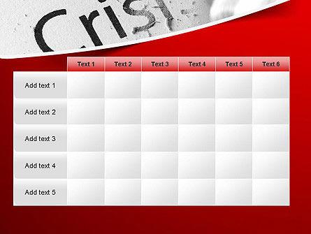 Erasing Crisis PowerPoint Template Slide 15
