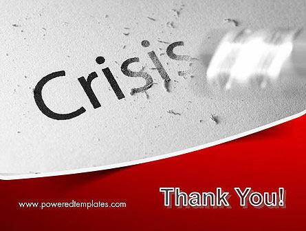 Erasing Crisis PowerPoint Template Slide 20