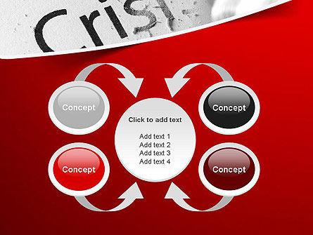 Erasing Crisis PowerPoint Template Slide 6