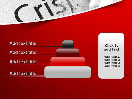 Erasing Crisis PowerPoint Template Slide 8