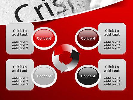 Erasing Crisis PowerPoint Template Slide 9