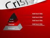 Erasing Crisis PowerPoint Template#12