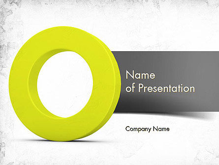 Light Green Zero PowerPoint Template, 11521, Education & Training — PoweredTemplate.com