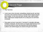 Light Green Zero PowerPoint Template#2