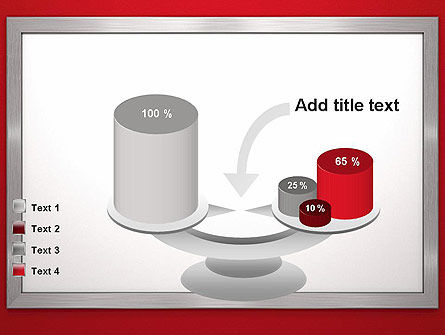 Silver-Chrome Frame PowerPoint Template Slide 10