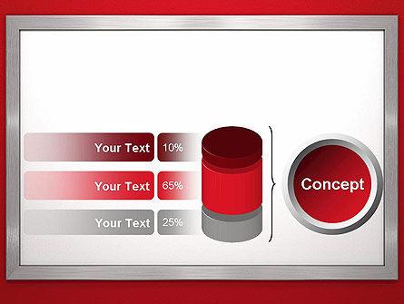 Silver-Chrome Frame PowerPoint Template Slide 11