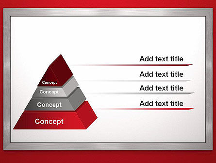 Silver-Chrome Frame PowerPoint Template Slide 12